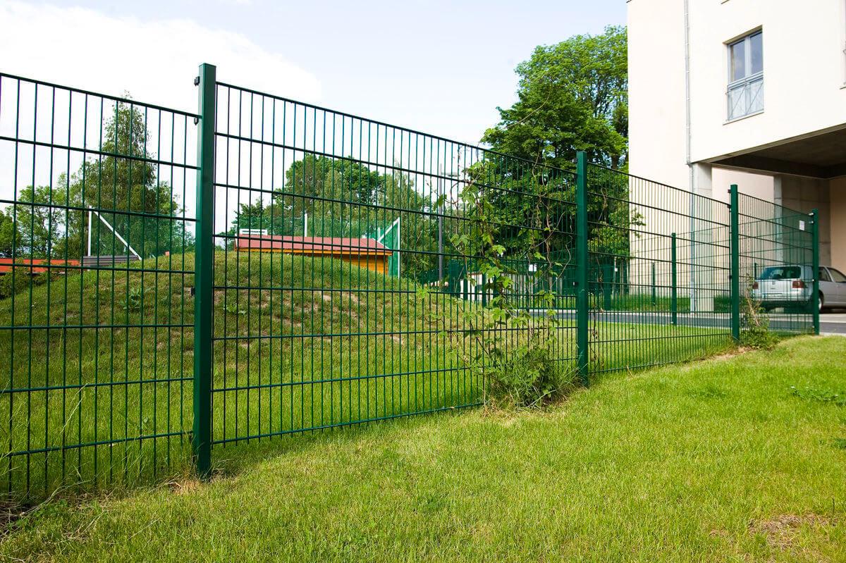 Stahlgitterzaun – Stahl – Pulverbeschichtung für Zäune Tür Tor
