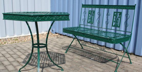 Pulverbeschichtung Garten- & Sitzmöbel